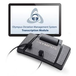 Olympus AS-9000 Professional Transcription Kit with Olympus ODMS Pro Transcribe Software & RS-31H USB Foot Control