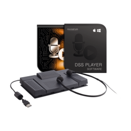 Olympus AS-2400 Transcription Kit with Olympus DSSPlayer Transcription Software