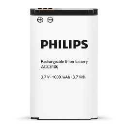 Philips ACC8100 Li-Ion Rechargeable Battery : Replacement battery for Philips DPM