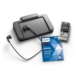 Philips DPM-6700 Dictation & Transcription Starter Kit : DPM-6000 Pocket Memo Voice Recorder & DPM-7177 Digital Transcription Kit with USB Foot Control & Headset