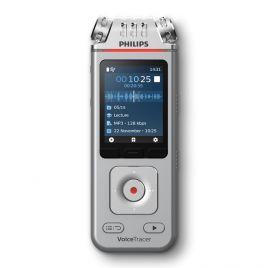 Philips DVT4110 VoiceTracer Lecture & Interview Recorder with free VoiceTracer App