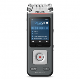 Philips DVT6110 VoiceTracer Music Recorder with free VoiceTracer App