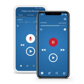 Philips Voice Recorder App with Dictation Hub Service : Dictation App for iPhone : Dictation App for Android