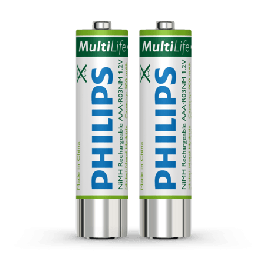 Philips LFH9154 Rechargeable Batteries for Philips DPM Voice Recorders