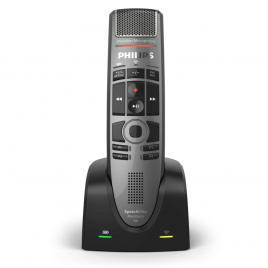 Philips SMP-4000 SpeechMike Premium Air Wireless Dictation Microphone : Best wireless microphone for Dragon Speech Recognition : Voice Recognition