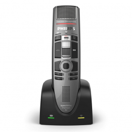 Philips SpeechMike Premium Air SMP-4010 Wireless Dictation Microhone : Best dictation microphone for Dragon Speech Recognition