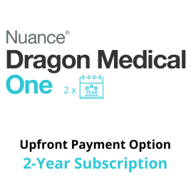 Dragon Medical One Cloud Speech Recognition - Upfront 2-Year Subscription