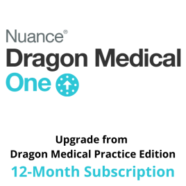 Dragon Medical One Cloud UPGRADE Offer - Upfront 12-Month Subscription