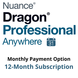 Dragon Professional Anywhere with Dragon Anywhere Mobile App Monthly Payment Option Speech Recognition, buy Dragon Voice Recognition Australia - Dragon Professional from VoiceX