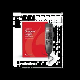 Dragon Legal 15 with SpeechMike Premium SMP3700 USB Dictation Microphone value bundle
