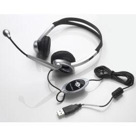 SoundTech Multimedia PC Headset : Computer Headset : USB Headset