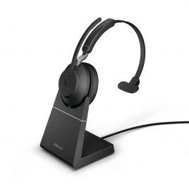 Jabra Evolve2 65 Mono with Charging Stand