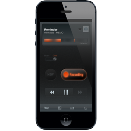 Olympus ODDS Dictation Recorder App for Apple iOS and Android smartphones