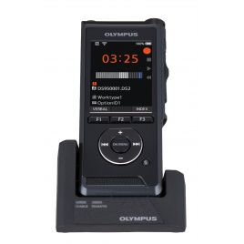 OLYM DS9000 Dictation Kit with Olympus ODMS Pro Dictate R7 and CR-21 Docking Station