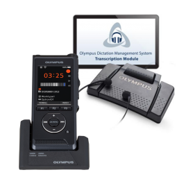 Olympus DS9000 Dictation Recorder Kit with Olympus AS9000 Transcription Kit. Dictaphone and Transcriber -  Windows 10 and Apple Mac OS compatible. Includes transcription USB foot control and transcriber headset.