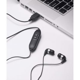 Spectra SP-EB Earbud style - in-ear style - transcription headset - transcription earphones