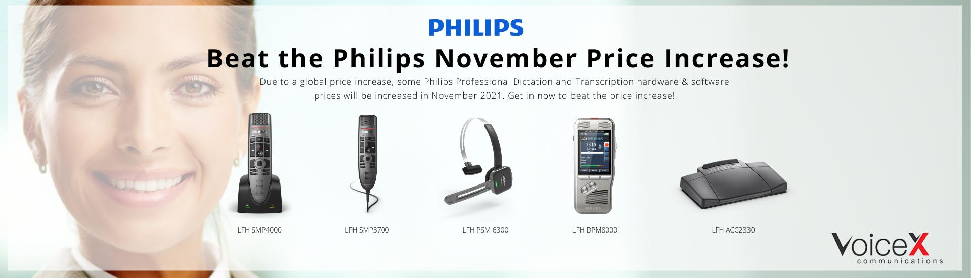 Beat the Philips November Price Increase!