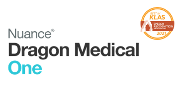 Dragon Medical One recieves #1 Best in KLAS Award for Speech Recognition