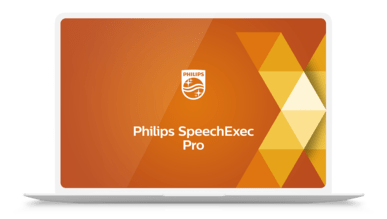 SpeechExec Pro version 11 desktop software