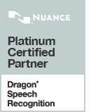 Certified Dragon Voice Recognition Partner