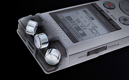 Olympus DM-720 Voice Recorder with Tresmic Microphone