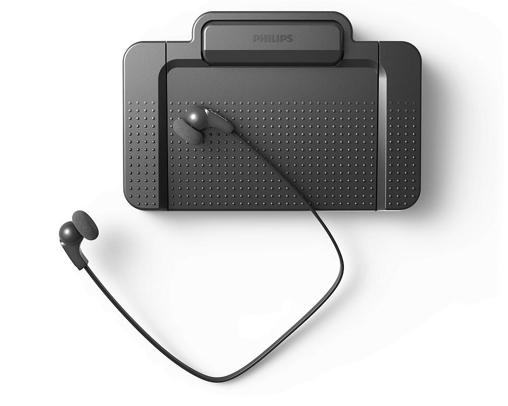 Transcription foot pedal, foot control, transcription headset, earphones, foot pedal, foot control, trancription software